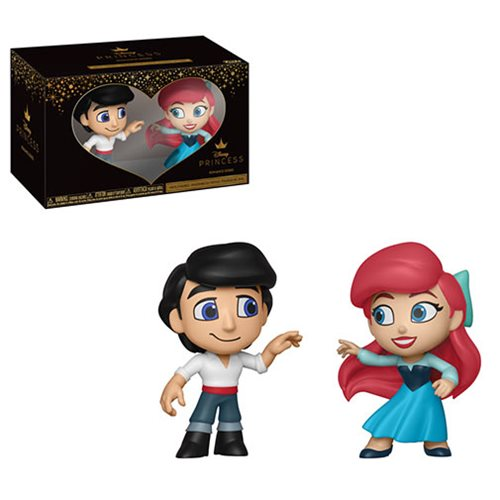 Little Mermaid Ariel and Eric Mystery Minis 2-Pack