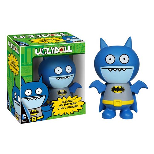 DC Comics Batman Uglydoll Ice-Bat Vinyl Figure