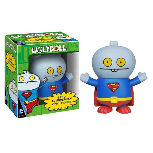 DC Comics Superman Uglydoll Babo Vinyl Figure