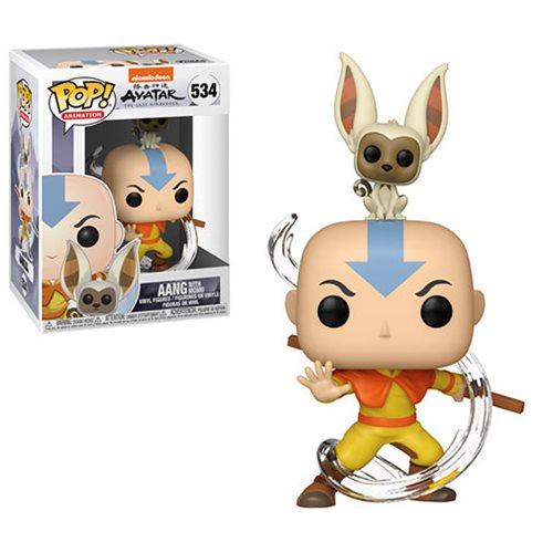 Avatar: The Last Airbender Aang with Momo Pop! Vinyl #534