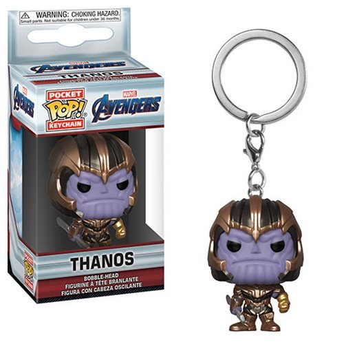 Avengers: Endgame Thanos Pocket Pop! Key Chain