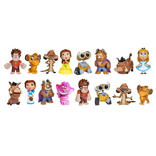 Disney Pixar Mystery Mini Vinyl Figure Series 2 4-Pack
