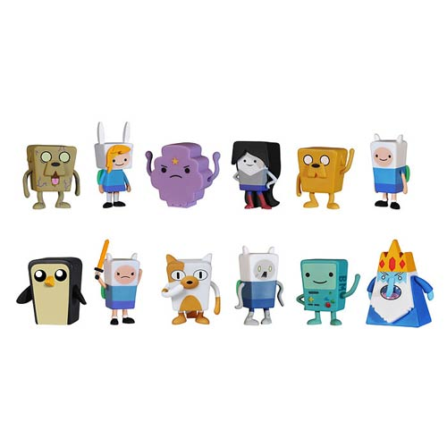Adventure Time Figural Tin Mystery Minis Display Box
