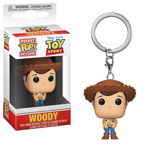 Toy Story Woody Pocket Pop! Key Chain