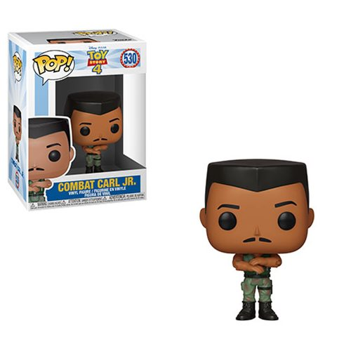 Toy Story 4 Combat Carl Jr. Pop! Vinyl Figure, Not Mint