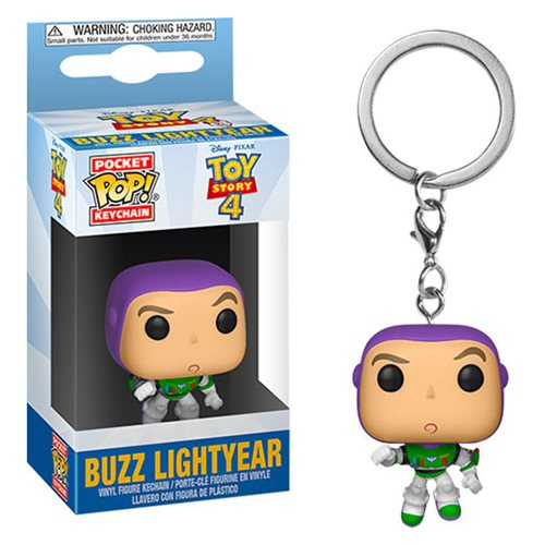 Toy Story 4 Buzz Lightyear Pocket Pop! Key Chain