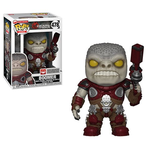 Gears of War Boomer Pop! Vinyl Figure, Not Mint