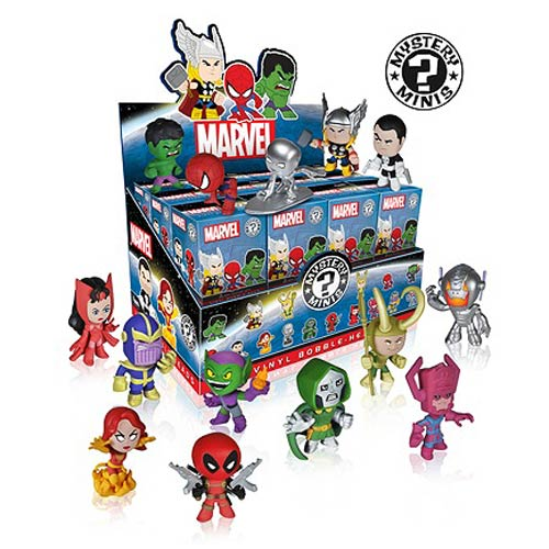 Marvel Mystery Minis Vinyl Figure Bobble Head Master Carton