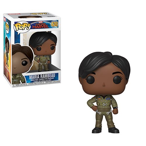 Captain Marvel Maria Rambeau Pop! Vinyl Figure, Not Mint