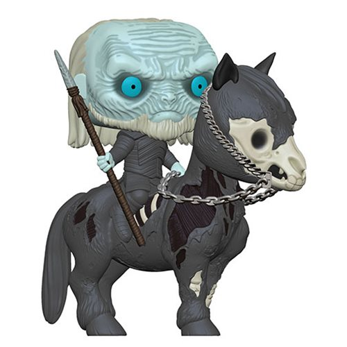Game of Thrones White Walker on Horse Pop! Vinyl Vehicle