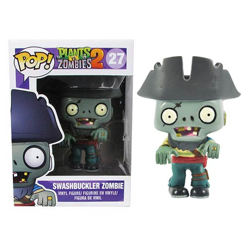 Plants vs. Zombies Pirate Zombie Pop! Vinyl Figure