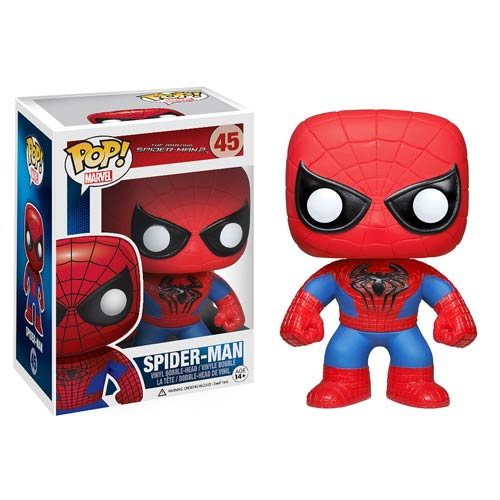 Amazing Spider-Man 2 Movie Spider-Man Pop! Vinyl Bobble Head