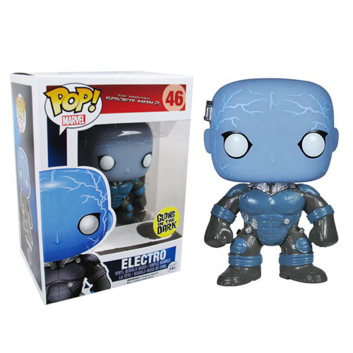 Amazing Spider-Man 2 Movie Electro Pop! Vinyl Bobble Head