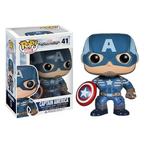 Captain America 2 Captain America Pop! Vinyl Bobble Head