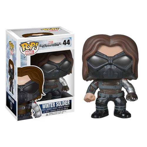 Captain America 2 Winter Soldier Pop! Heroes Vinyl Figure