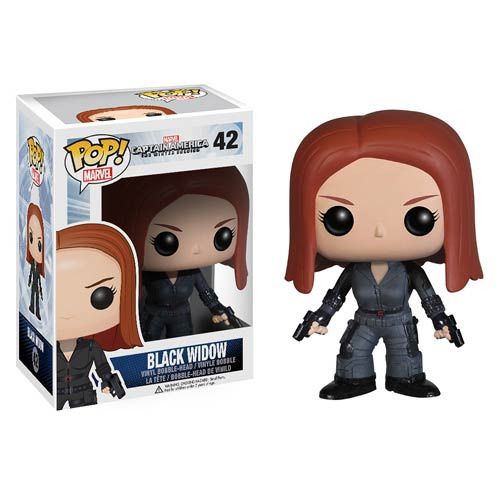 Captain America 2 Black Widow Pop! Heroes Vinyl Figure