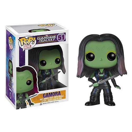 Guardians of the Galaxy Gamora Pop! Vinyl Bobble Figure