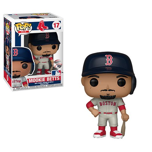 MLB Boston Red Soxs Mookie Betts Pop! Vinyl Figure
