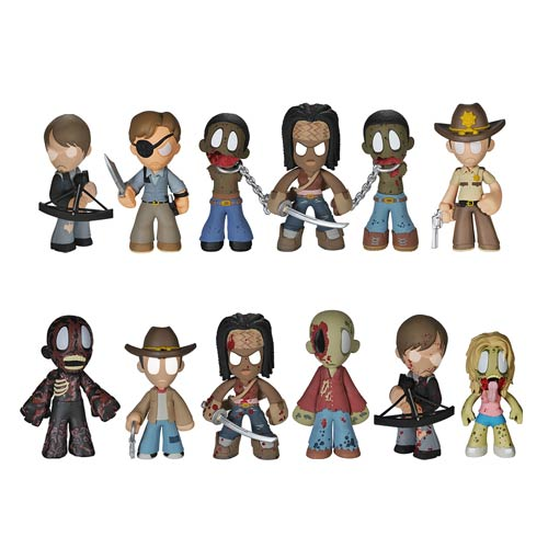 The Walking Dead Mystery Minis Series 2 Mini-Figure 4-Pack