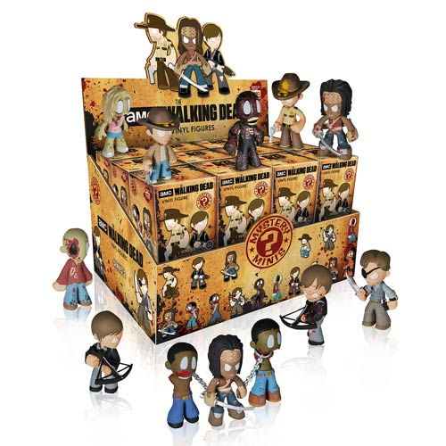 Walking Dead Mystery Minis Series 2 Mini-Figure Display Box