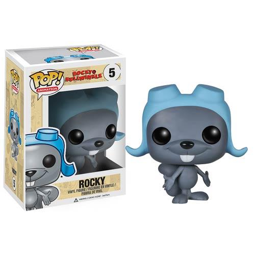 Rocky and Bullwinkle Rocky J. Squirrel Pop! Vinyl Figure