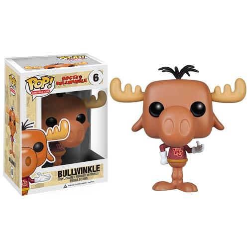 Rocky and Bullwinkle Bullwinkle J. Moose Pop! Vinyl Figure