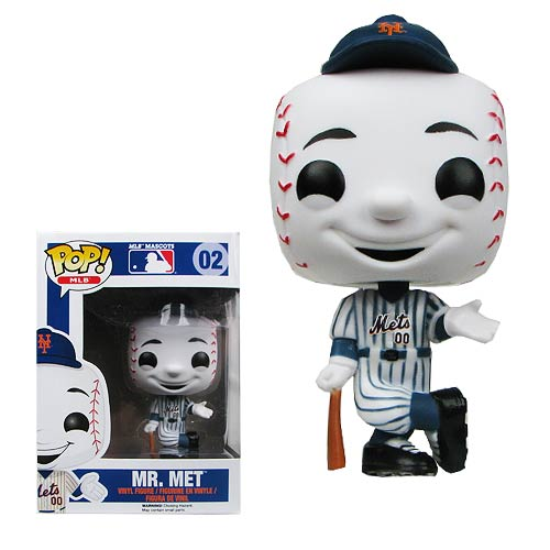 Major League Baseball Mr. Met Pop! Vinyl Figure