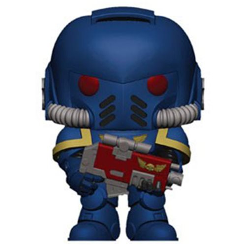 Warhammer 40,000 Space Marine Pop! Vinyl Figure, Not Mint