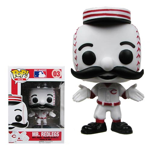 Major League Baseball Mr. Red Pop! Vinyl Figure