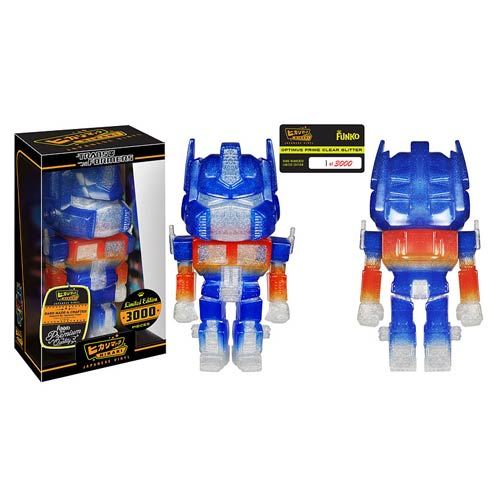 Transformers Optimus Prime Clear Glitter Hikari Figure