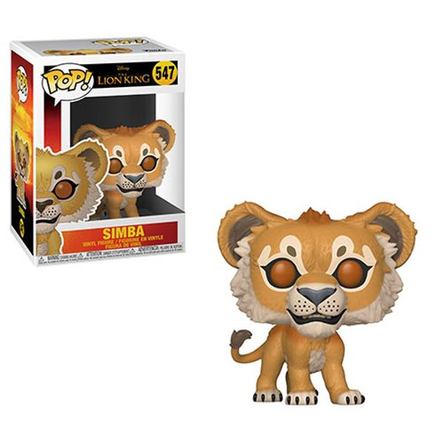 Lion King Live Action Simba Pop! Vinyl Figure #547