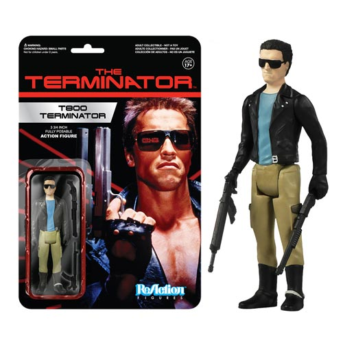 20% Off Terminator ReAction Figures