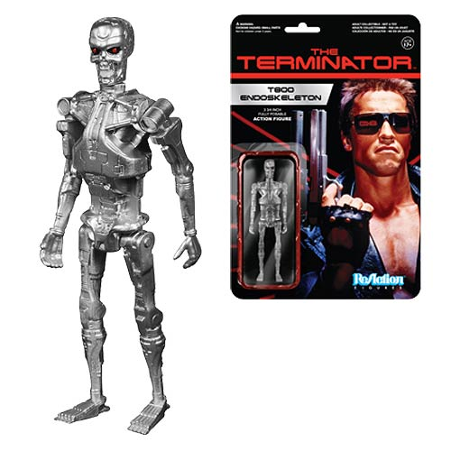 Terminator T-800 Endoskeleton ReAction 3 3/4-Inch Figure