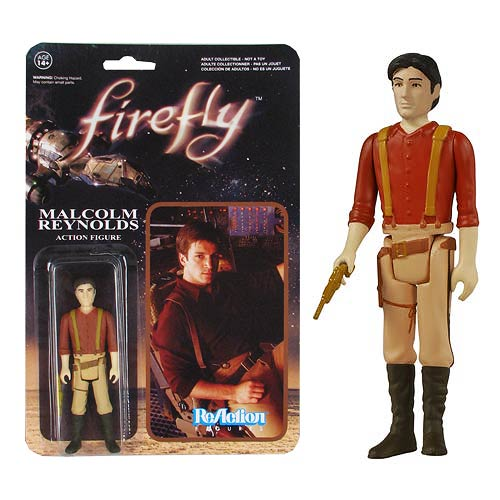 Firefly Malcolm Reynolds ReAction 3 3/4-Inch Action Figure