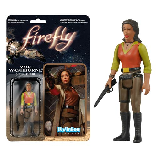 Firefly Zoe Washburne ReAction 3 3/4-Inch Action Figure