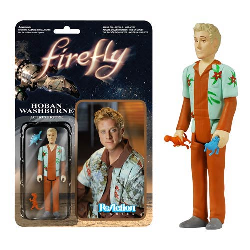 Firefly Hoban Washburne ReAction 3 3/4-inch Action Figure