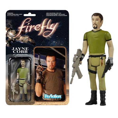 Firefly Jayne Cobb ReAction Retro Action Figure, Not Mint