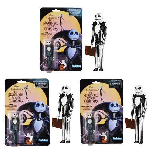 Nightmare Before Christmas Jack ReAction 3 3/4-Inch Figure