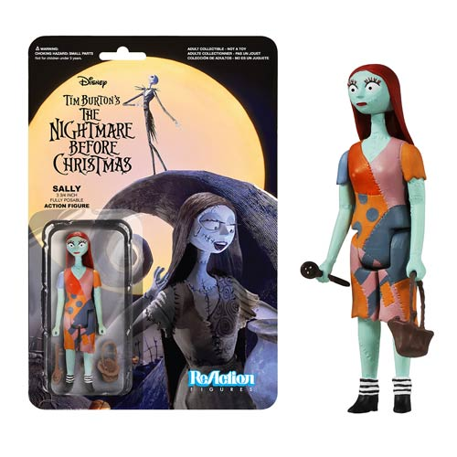 Nightmare Before Christmas Sally ReAction 3 3/4-Inch Figure
