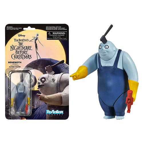 Nightmare Before Christmas Behemoth ReAction Retro Figure