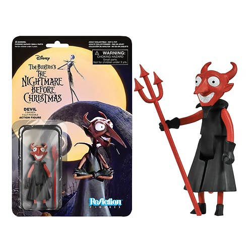 Nightmare Before Christmas The Devil ReAction Retro Figure