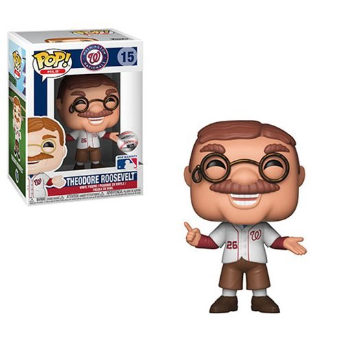MLB Washington Nationals Teddy Roosevelt Pop! , Not Mint