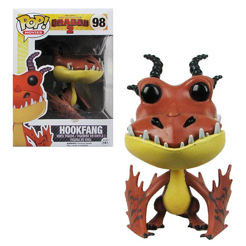 How to Train Your Dragon 2 Hookfang Pop! Vinyl Figure