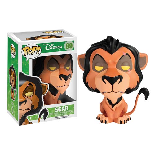 The Lion King Scar Pop! Vinyl Figure