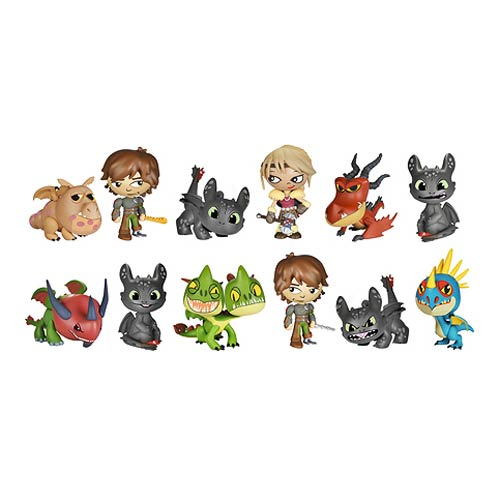 How to Train Dragon 2 Mystery Mini Vinyl Figure 4-Pack