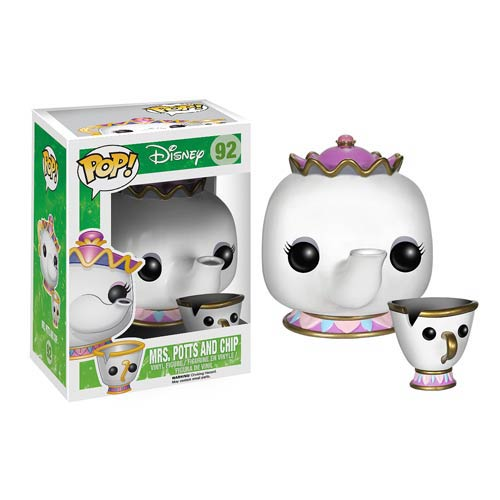 Beauty and the Beast Mrs. Potts And Chip Pop! Vinyl Figures