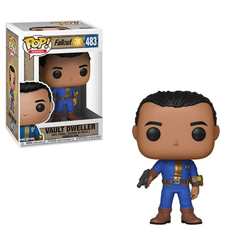 Fallout 76 Vault Dweller Male Pop! Vinyl Figure #483