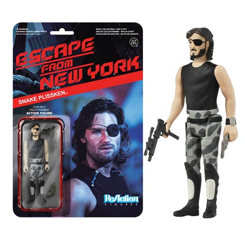 Escape from New York Snake ReAction 3 3/4-Inch Figure