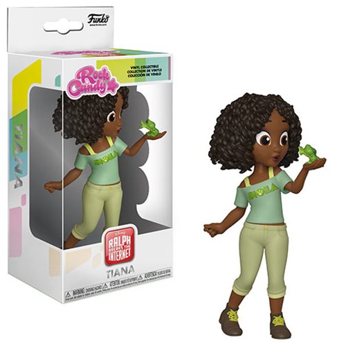 Wreck-It Ralph 2 Comfy Princess Tiana Rock Candy Vinyl Figure