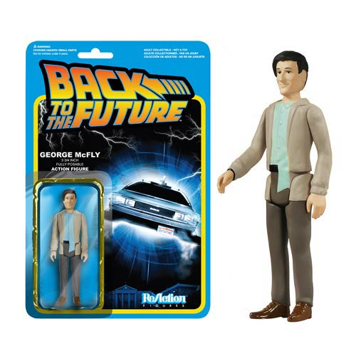 Back to the Future George McFly ReAction 3 3/4-Inch Figure